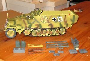 ULTIMATE SOLDIER 1/18 WWII GERMAN HANOMAG Sdkfz 251/1 HALFTRACK XTRA ACCESSORIES