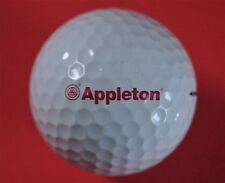 Pelota de golf con logo-Appleton-Steiner-estados unidos-Titleist Pro v1-golf logotipo Ball
