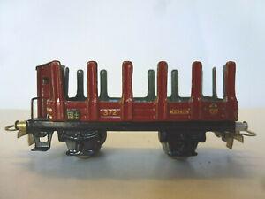 Rungenwagen  372  Märklin H0/00 Blechwagen von etwa 1940