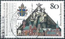 BRD Bund 1987 Besuch vom Papst i.d. BRD Mi.1320 gestempelt Vollstempel LUXUS!