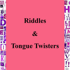 New Riddles & Tongue Twisters 737Max to Canary Gold Watch Pdf-eBook