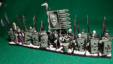 "WARHAMMER CITADEL 20 SKELETON MEN AT ARMS ""MILITIA ARCANA"" & NECROMANCER - LDZ -"