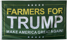 Farmers For Trump FLAG MAGA 3X5FT BANNER US Shipper