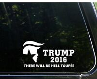 Donald Trump for President 2016 - Republican - Bumper Sticker Vinyl Decal