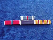 Ordensspange WWII 4 Ribbons: Flying Cross, Bronze Star, Purple Herat Pacific