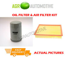 PETROL SERVICE KIT OIL AIR FILTER FOR LAND ROVER DISCOVERY 2.0 136 BHP 1993-98