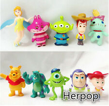 1 sets 10pcs Toy story cartoon mix Doll ornaments Decorative furnishing articles