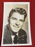 Vintage RPPC Ronald Regan 1940's Hollywood Star Actor