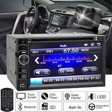 2Din Stereo Radio Car DVD CD Player USB HD Camera for TOYOTA RAV4 Corolla Camry