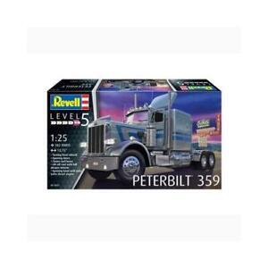 REVELL PETERBUILT 359 1:25TH SCALE PLASTIC MODEL KIT- 95-12627
