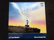 Short Circuit Laserdisc 1986 Extended Play 3724-80 NTSC