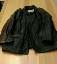 Nicklebys Mens Brown Leather Jacket Large