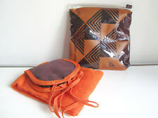 New South African Airways Amenity Kit Orange Pouch