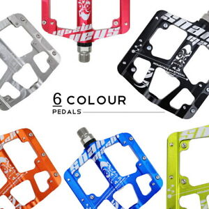 Aluminum 3 Sealed Bearing Bicycle Flat Cycling Pedals Road MTB Bike Pedal