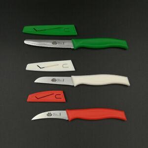 BALLARINI Mincio kleine Küchenmesser mit Klingenschutz - Schäl Gemüse Universal
