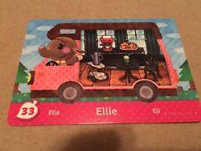 Nintendo Animal Crossing Welcome Amiibo New Leaf RV US Version Card #33 Ellie SP