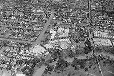 ABBOTSFORD Victoria Aerial View taken 1929 modern digital Photo Postcard