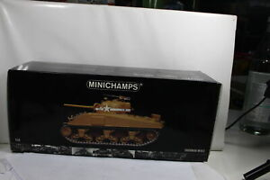 MINICHAMPS 350 040001 Solid Sherman M4 A3 1:3 5 See Photos Boxed
