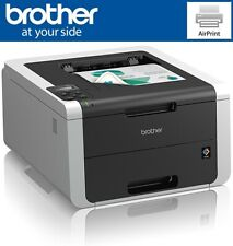Brother HL-3150CDW Wireless Wi-Fi Network Colour Laser Printer, NEW XL Toners