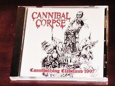 Cannibal Corpse: cannibalizing Cleveland 1997 - Edición Limitada CD 2016 EE.UU.