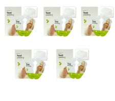 The Face Shop Smile Foot Peeling Mask - 5 Pack