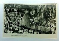 RPPC Los Angeles CA Clifton's Pacific Seas Tiki Restaurant Real Photo Postcard
