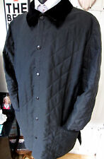 """Barbour Flyweight Eskdale Quilted Black Jacket  XL UK 46"""" Chest"""