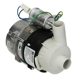 GENUINE RATIONAL CLEANING PUMP 56.00.153P 24mm IN 24mm OUT COMBI OVEN STEAMER