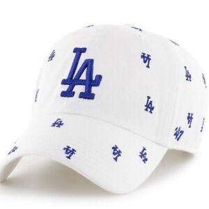 New Women's 47 Brand Genuine MLB Adjustable Los Angeles Dodgers Confetti Hat