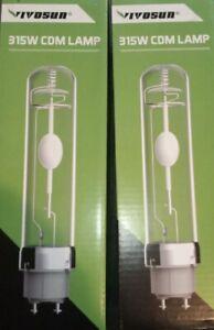 2x Vivosun 315W CDM Grow Light Lamp/Bulb✅‼️🌟✅
