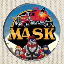 M.A.S.K. Patch Picture Embroidered Border Cartoon Matt Trakker Venom Miles MASK