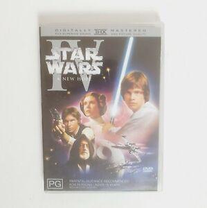 Star Wars IV A New Hope Movie DVD Region 4 AUS Free Postage