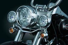 Kuryakyn 5011 Bullet Light Front Turn Signal Conversion Kit, Chrome