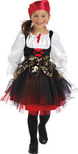 Lucy Piratenbraut Kinderkostüm NEU - Mädchen Karneval Fasching Verkleidung Kostü