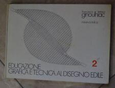 GINOULHIAC EDUCAZIONE GRAFICA E TECNICA AL DISEGNO EDILE 2 II MINERVA ITALICA SH