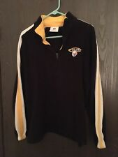 NFL PullOver Partial Zipper Jacket Pittsburgh Steeler Womens Mens Size Large