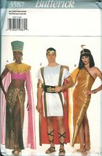 3587 Butterick Cleopatra Princess Nile Egyptian Spartan Costume Pattern UNCUT