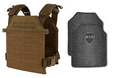 Body Armor | Bullet Proof Vest | AR500 Steel Plates | Base Frag Coating- CDR COY