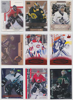 Goalie Parallel Insert Numbered Rookie RC Cards - Choose From List NHL Hockey