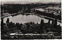 Ansichtskarte Minden/Westfalen - Schachtschleuse Mittellandkanal und Weser - s/w