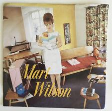 """Mari Wilson 7"""" Just Wahat I Always Wanted/Woe, Woe, Woe Pink4 1982 Vinyl"""