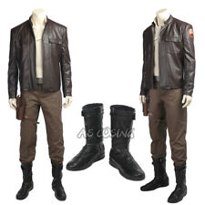 Star Wars The Last Jedi Poe Dameron Cosplay Costume Custom Made Halloween Outfit