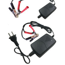 1Pc Car Motorcycle 12V 1.3A Battery Charger Auto Truck Charging Adapter Black--