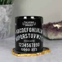 Talking Board Black Ceramic Mug Tea Coffee Soup Cup Gothic Wiccan Gift Boxed