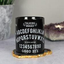 Parlando Board Tazza in ceramica nera Tè Zuppa Tazza caffè confezione regalo inscatolato gothic wicca