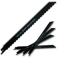 "5pcs KENT R922K, 9"" HCS 3 TPI Reciprocating Saw Blades For Wood"