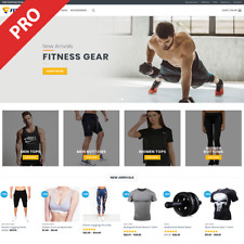 Professional Dropshipping Store Fitness Gear Turnkey Website Business
