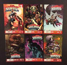 ALL-NEW CAPTAIN AMERICA #1 - 6 Comic Books COMPLETE Marvel 2015 Remender VF