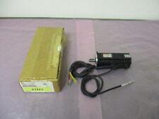 AMAT 1080-01257, Motor, 200W W/24VDC Brake, Sanyo Denki P50B05020DCS00M, 410416