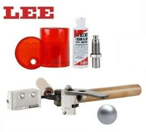 Lee 2 Cav Mold (451 Diameter) Round Ball & Sizing and Lube Kit! # 90440+90061